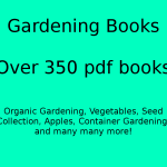 350 Plus Gardening Books