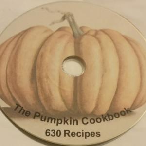 Pumpkin Recipe Book - 630 Recipe
