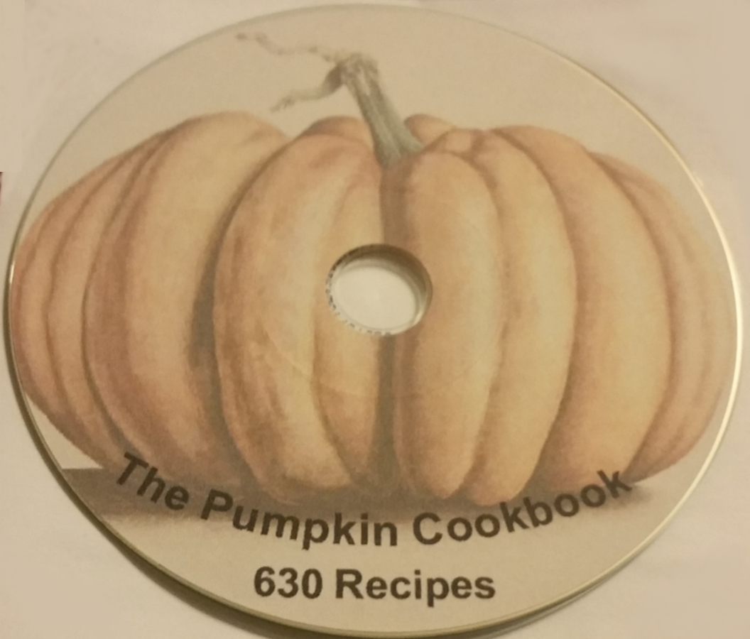 Pumpkin Recipe Book - 630 Recipe